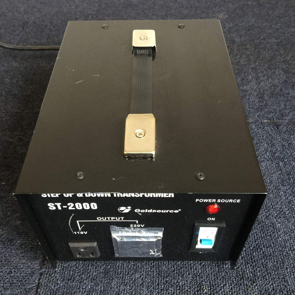 Goldsource ST-2000 Step Up & Down Transformer