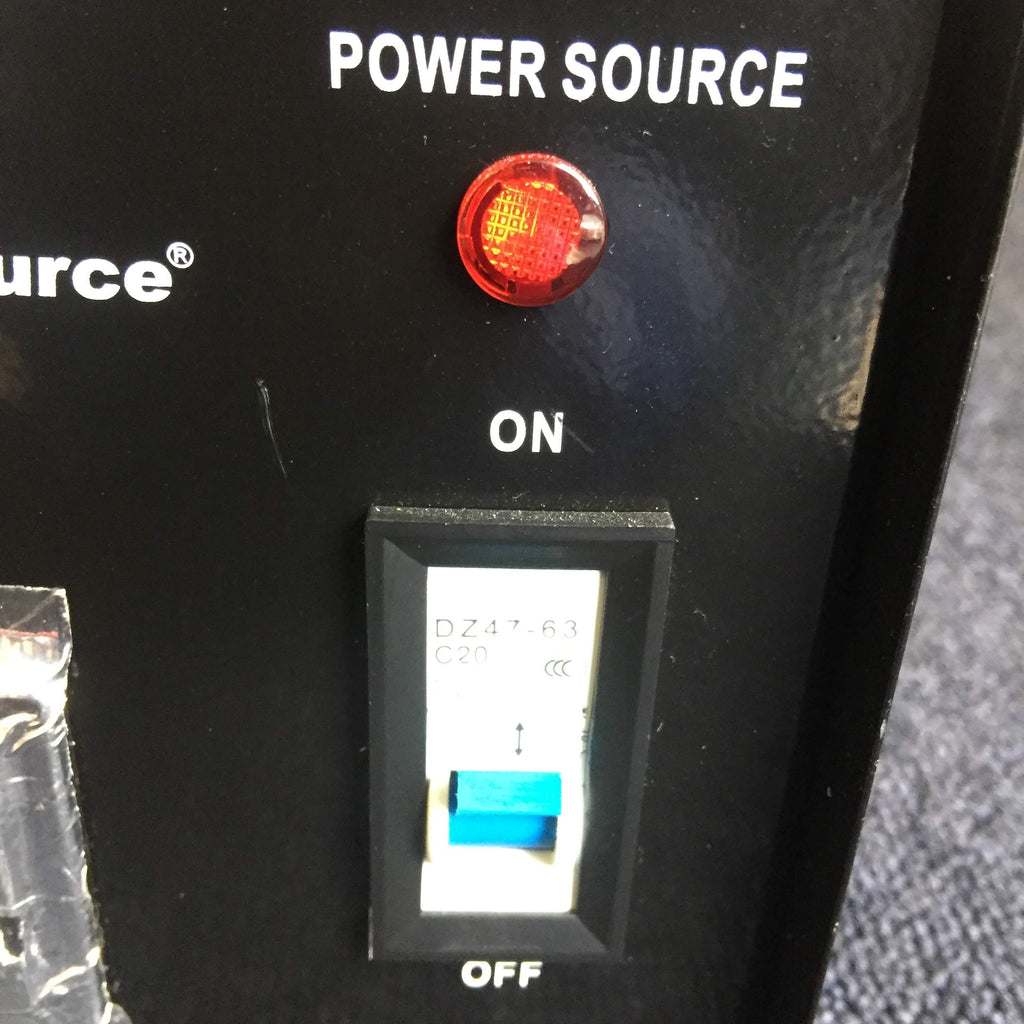 On/Off Switch, Power Source Light