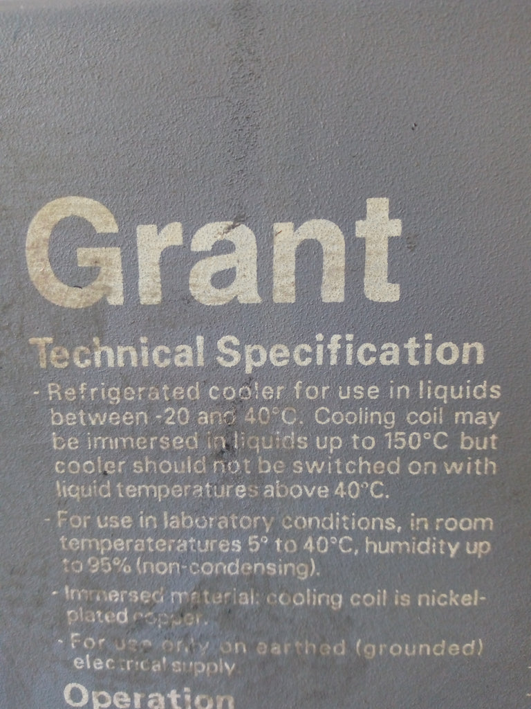 Grant C1G Refrigerated Immersion Cooler