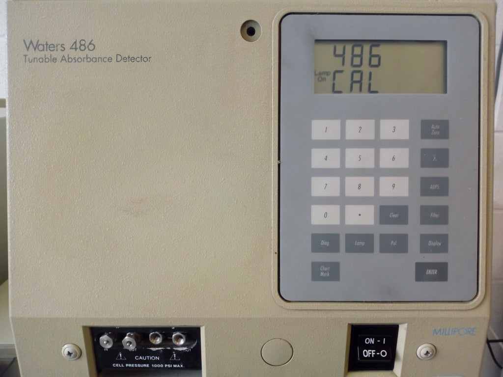 Waters 2695 Seperation Module and 486 Tunable Absorbance Detector and 717plus Autosampler