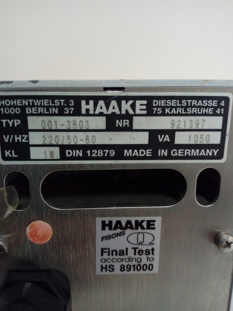 Haake D1 Immersion Circulator