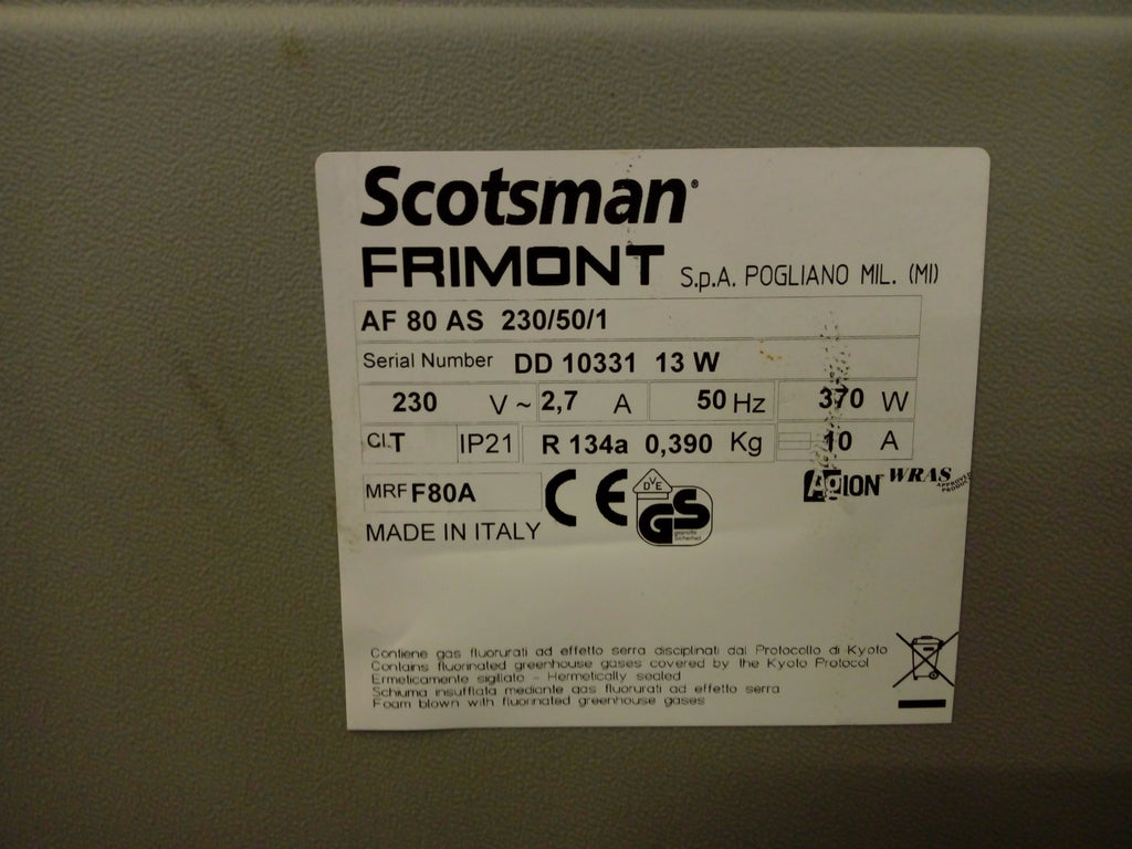 Scotsman AF80 AS ICE Flaker