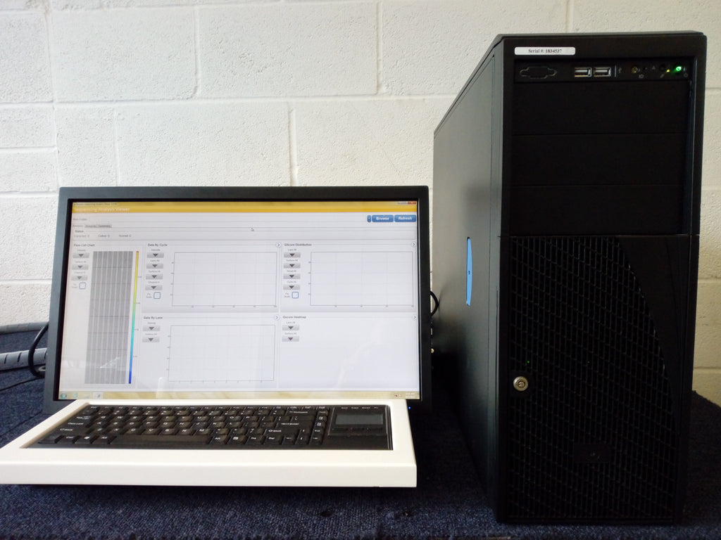 illumina HiSeq 2500 DNA Genetic Sequencer
