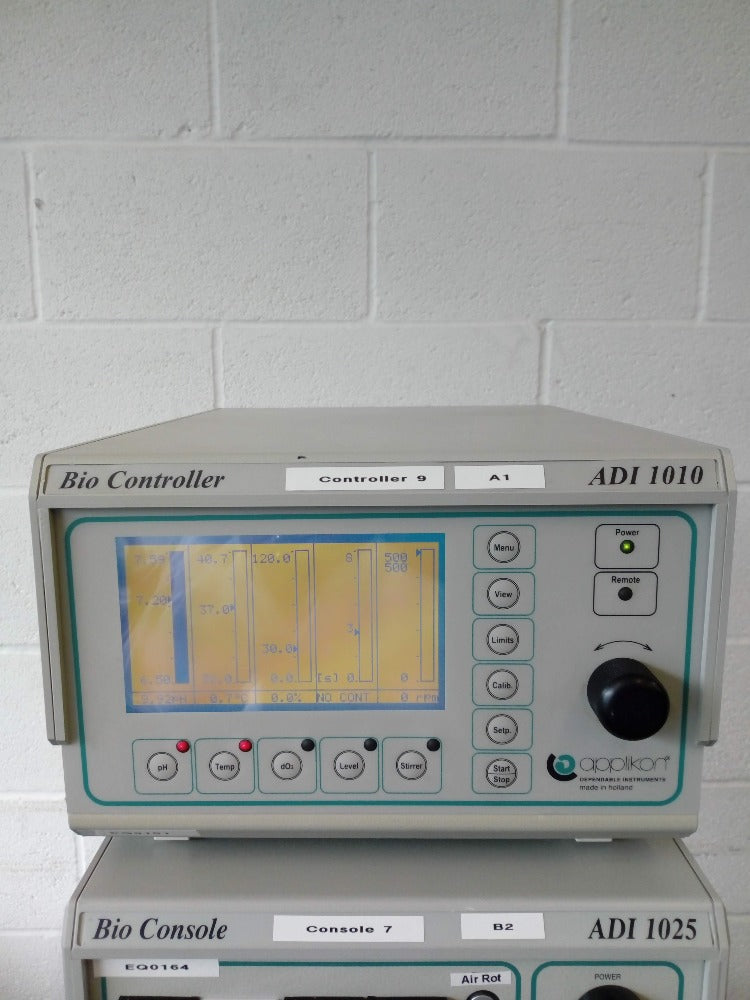 Applikon ADI1010 BioController ADI1025 BioConsole with Vessel and Pump EQ0164