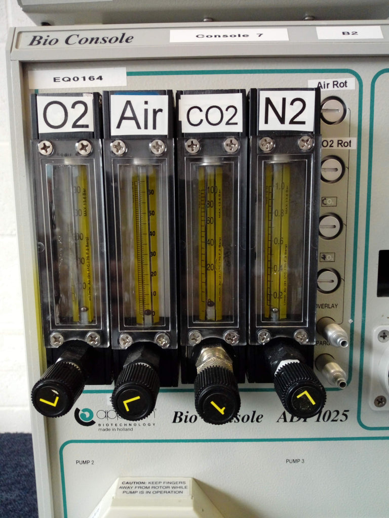 O2, Air, CO2 & N2 Measuring
