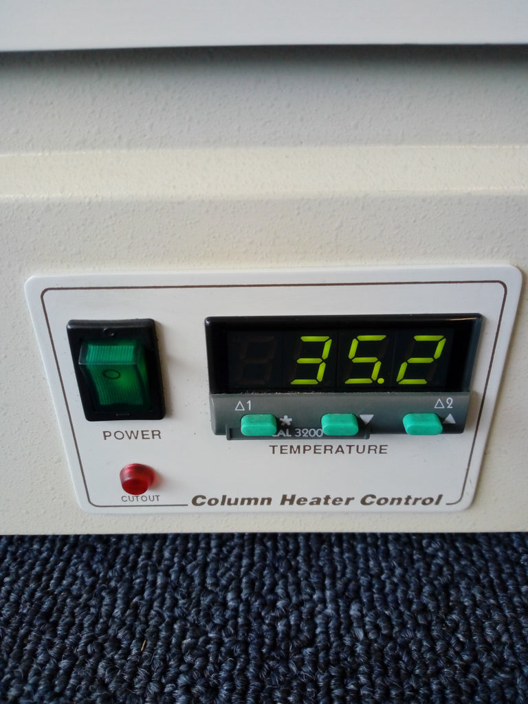 Column Heater Control, Power On/Off Switch, Digital Temperature Screen