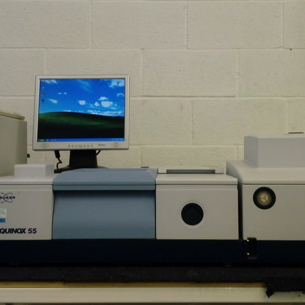 Bruker Equinox 55 FTIR with HTS-XT Microplate Reader Extension