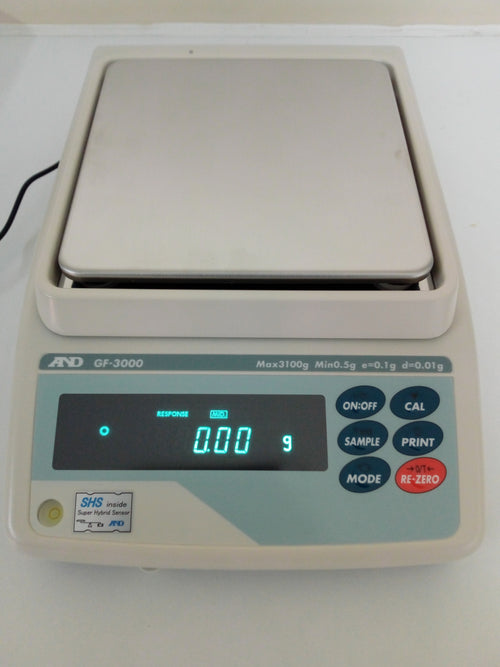 A&D GF - 3000 Balance - Richmond Scientific