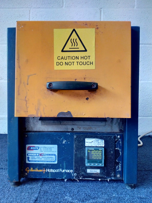 Gallenkamp Hotspot Furnace, Caution Hot Do Not Touch Sticker