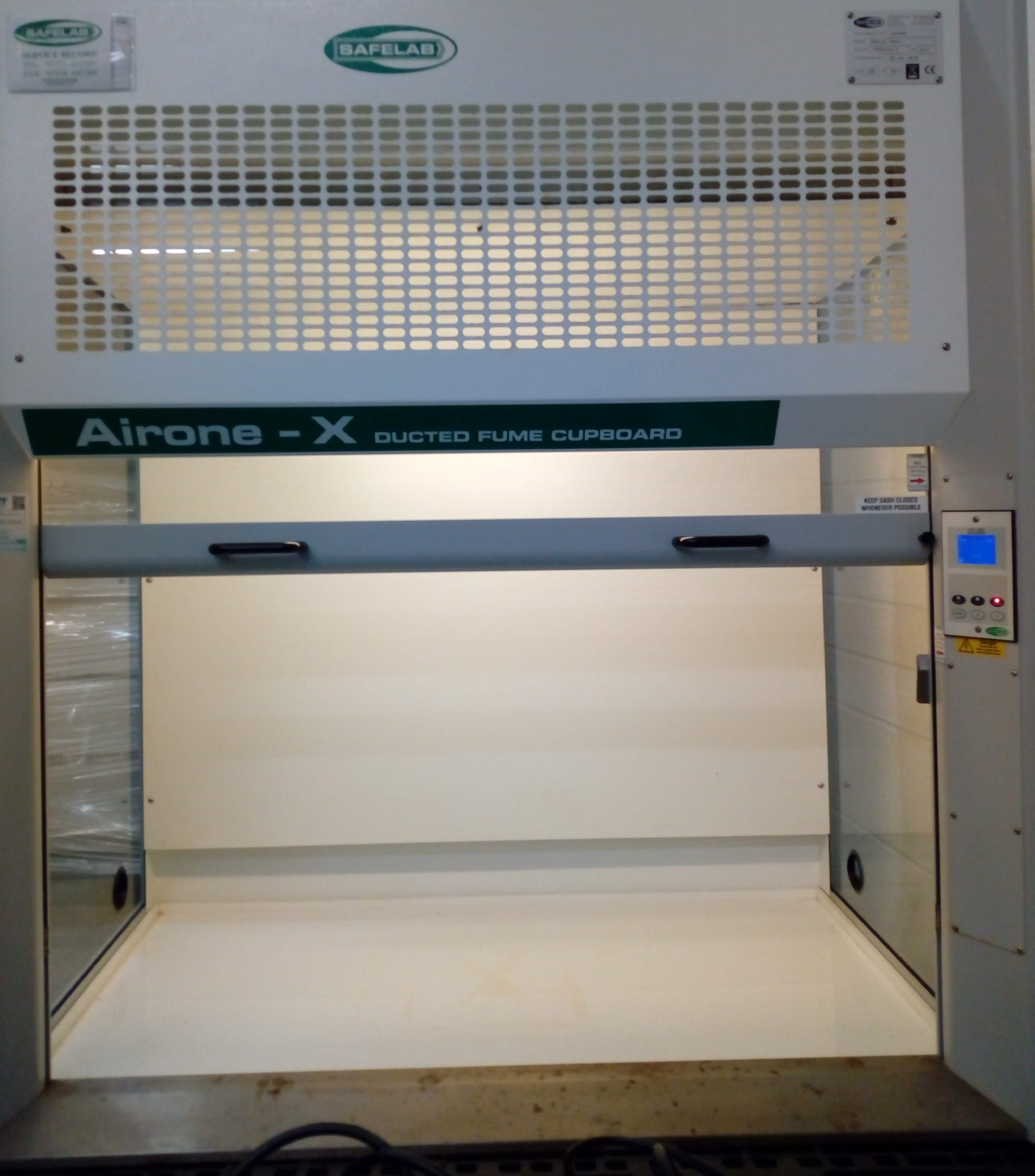 Safelab Airone X Ducted Fume Cupboard