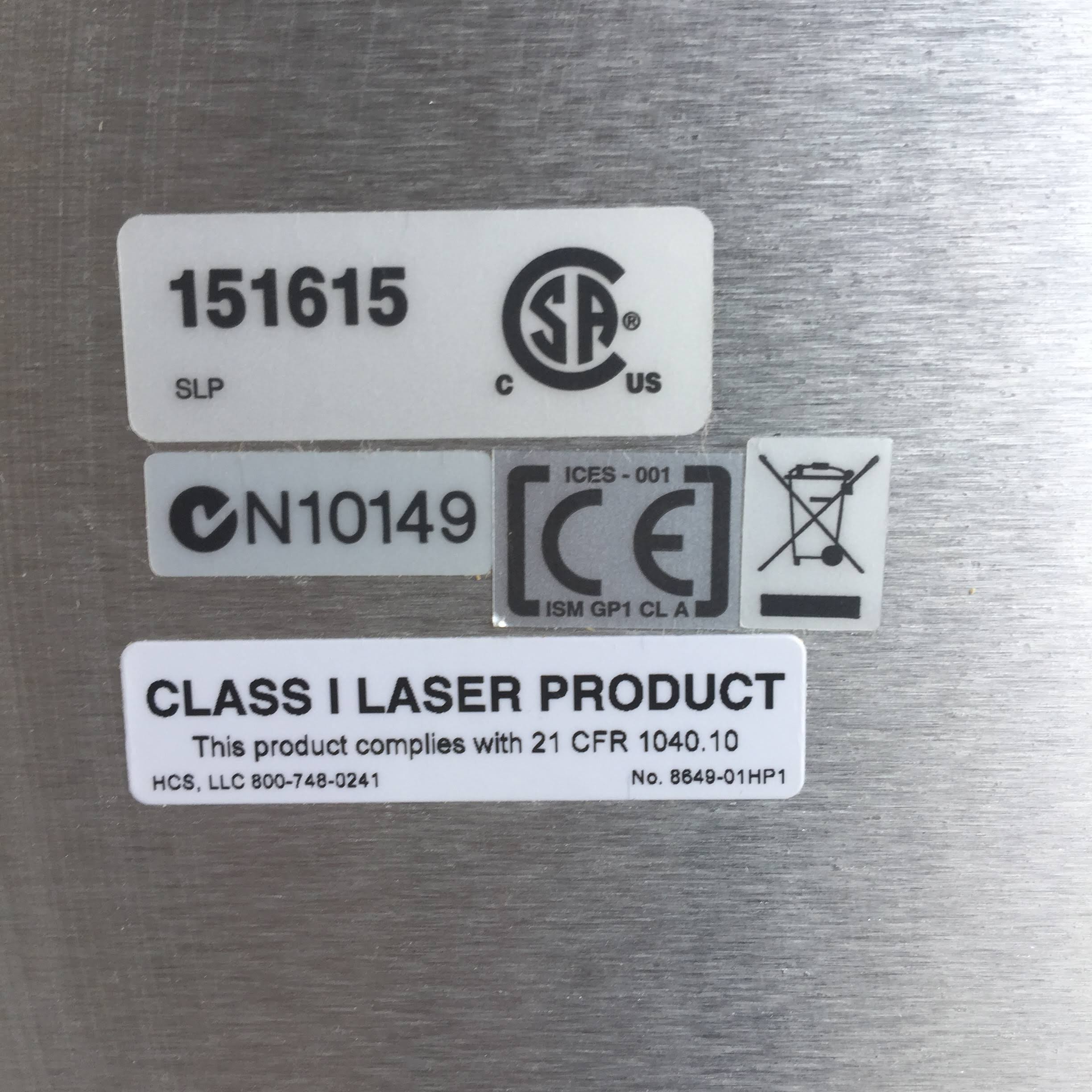 Class 1 Laser Product