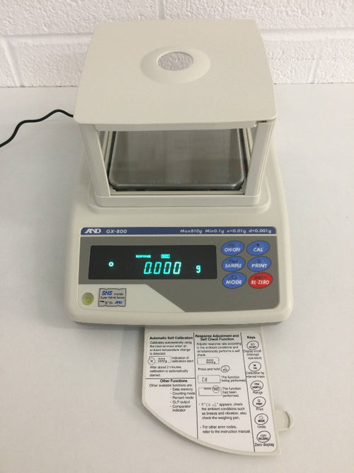 A&D GX-800 Precision Laboratory Balance - Richmond Scientific