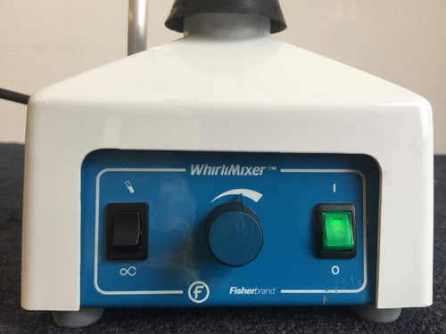 Fisherbrand WhirliMixer, On/Off Switch & Other Function Controls