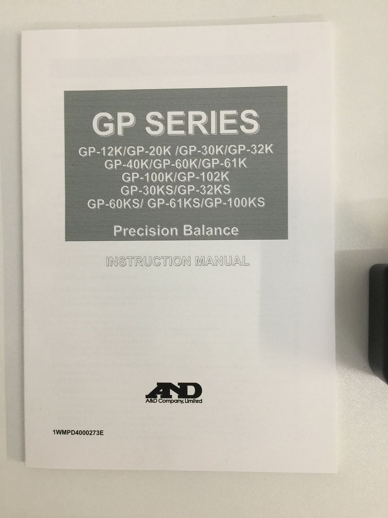 A&D GP-60KS High Capacity Precision Balance - Richmond Scientific