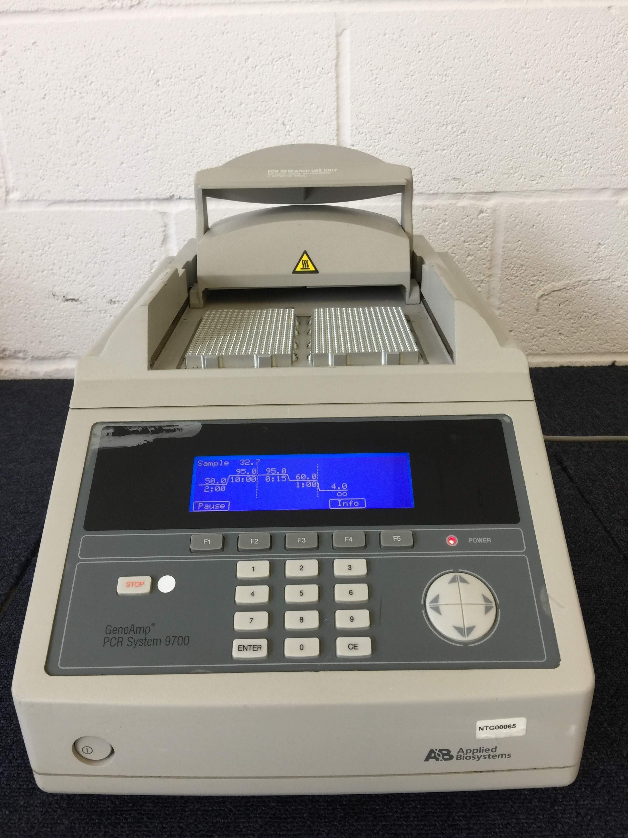 AB GeneAmp PCR System 9700 Thermal Cycler