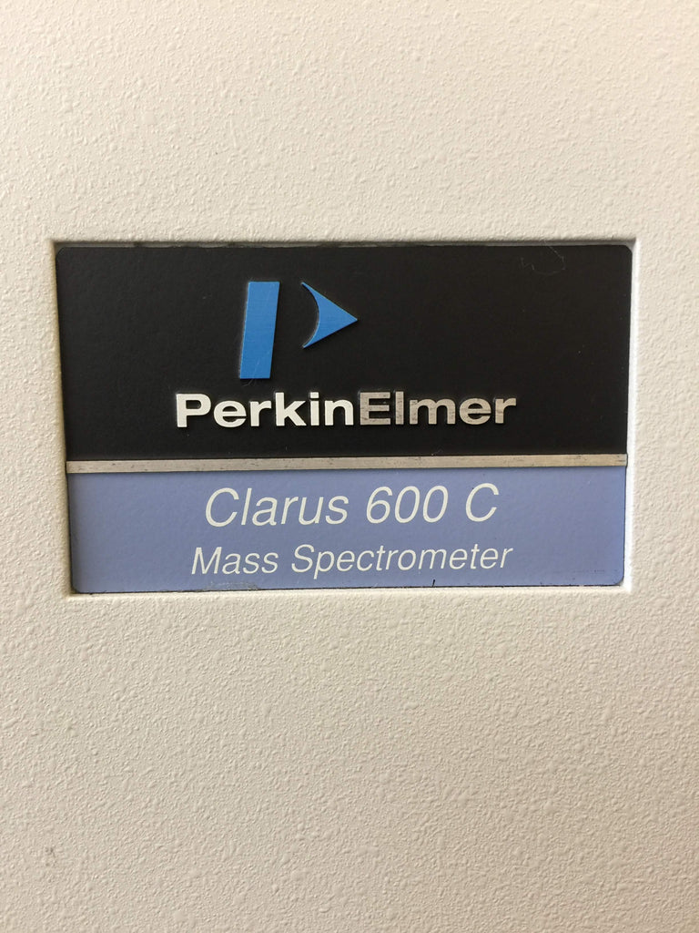 Perkin Elmer Clarus 600 Gas Chromatograph with Mass Spectrometer