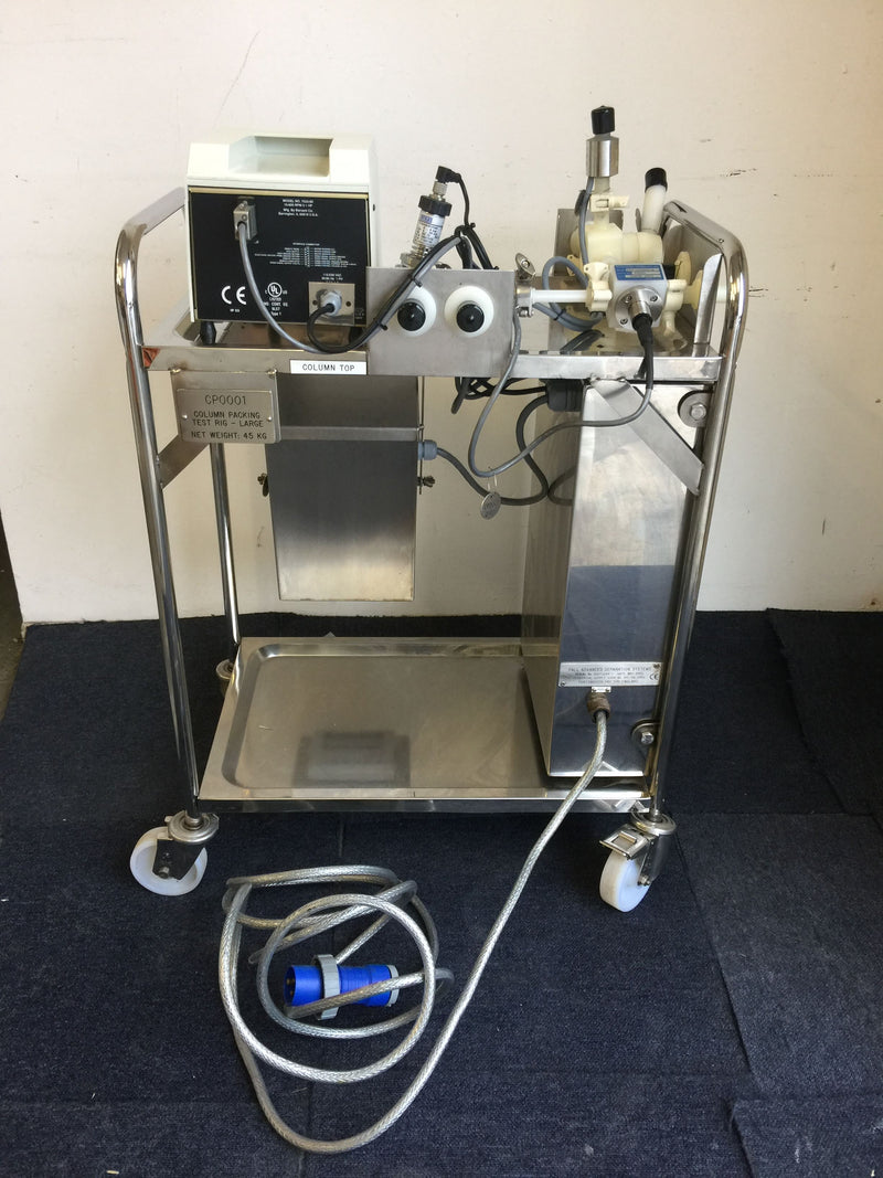 Pall Chromatography Column Testing Rig - Richmond Scientific