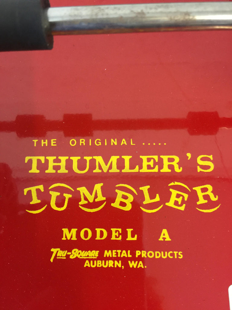 Thumler's Tumbler Model A Rock Tumbler