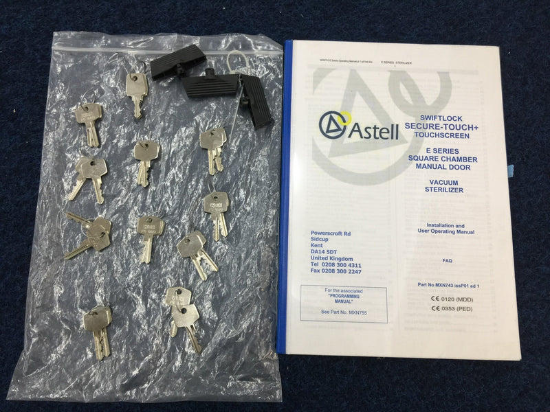 Unused Astell Scientific MNS125E 125L Autoclave - Richmond Scientific