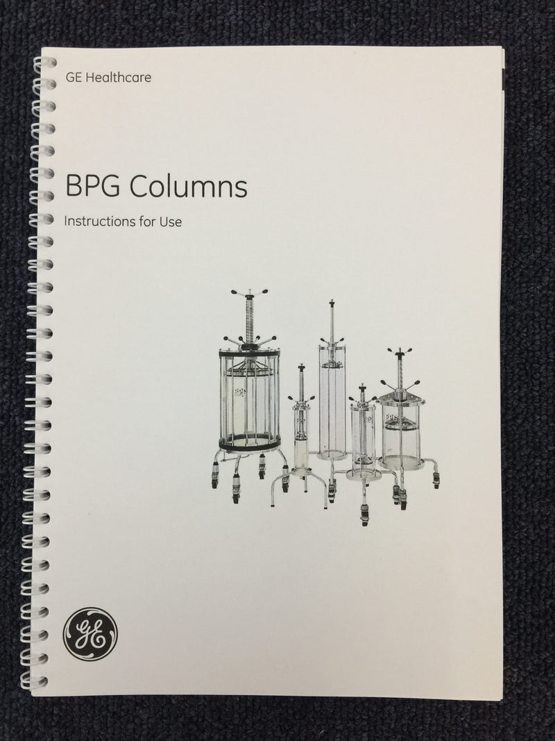 Amersham Biosciences BPG 140/500 Glass Chromatography Column (0505/1419) - Richmond Scientific