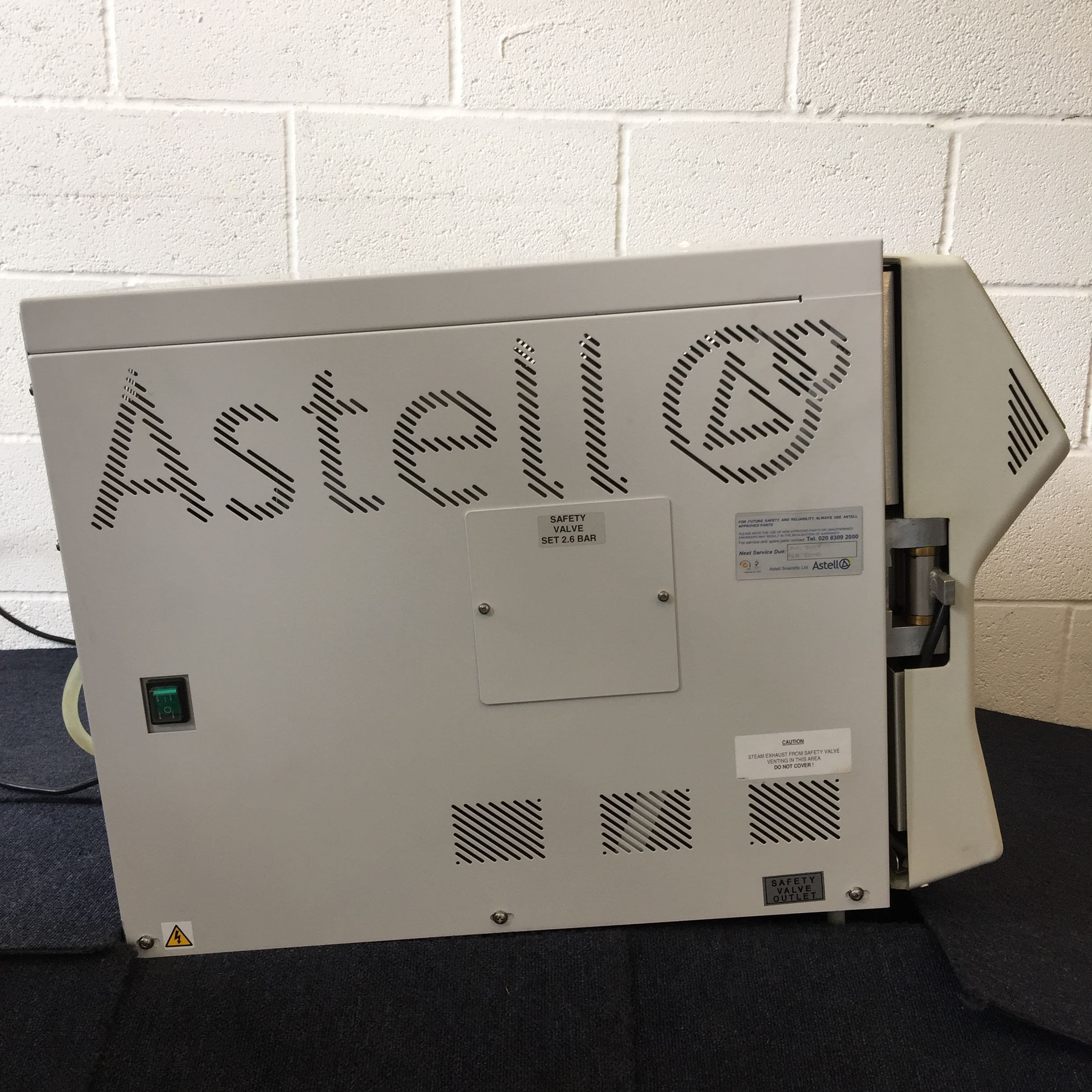 Astell Benchtop AMB430BT Autoclave