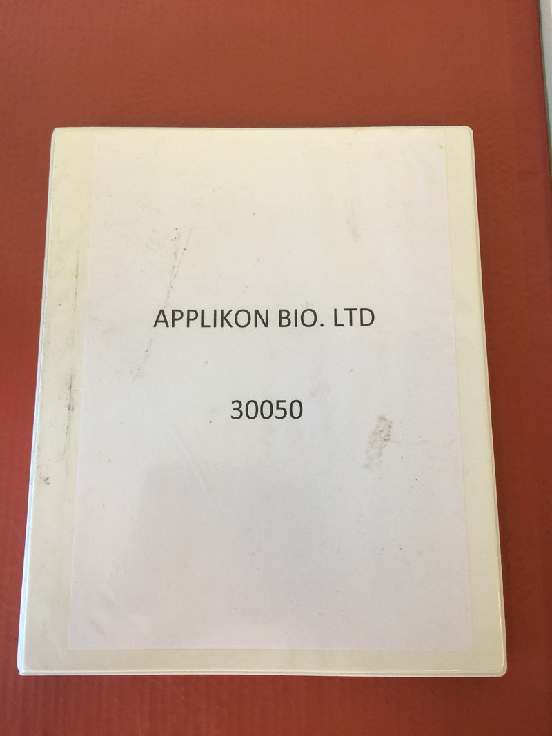 Applikon Bio. Ltd 30050 Document