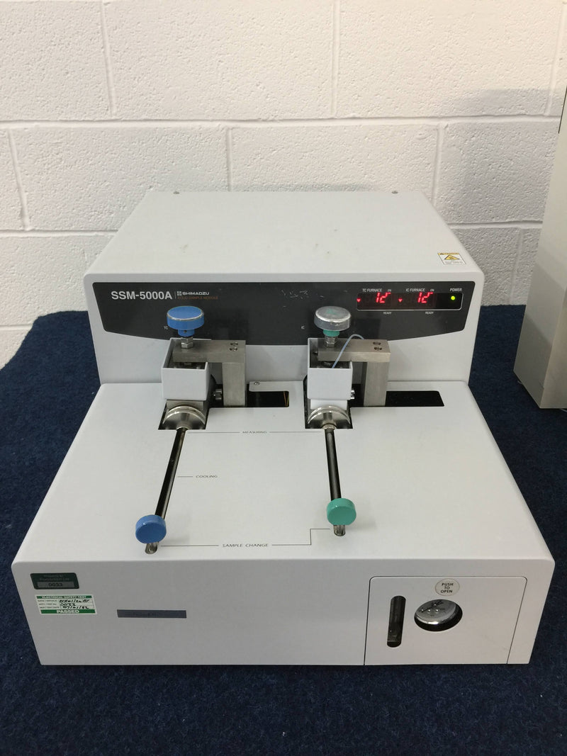 Shimadzu TOC-V CSN Total Organic Carbon Analyzer with Shimadzu SSM-5000A Solid Sample Module - Richmond Scientific