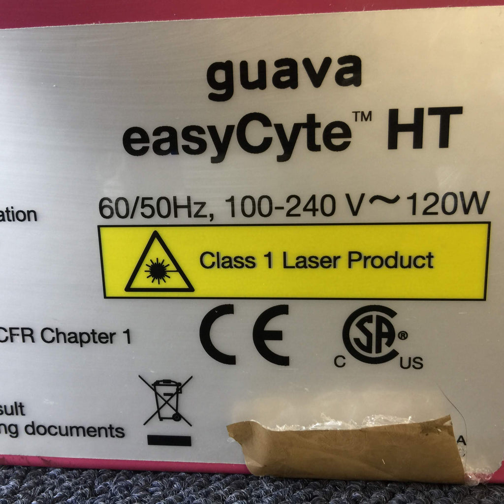 Millipore Guava easyCyte 8HT Flow Cytometer