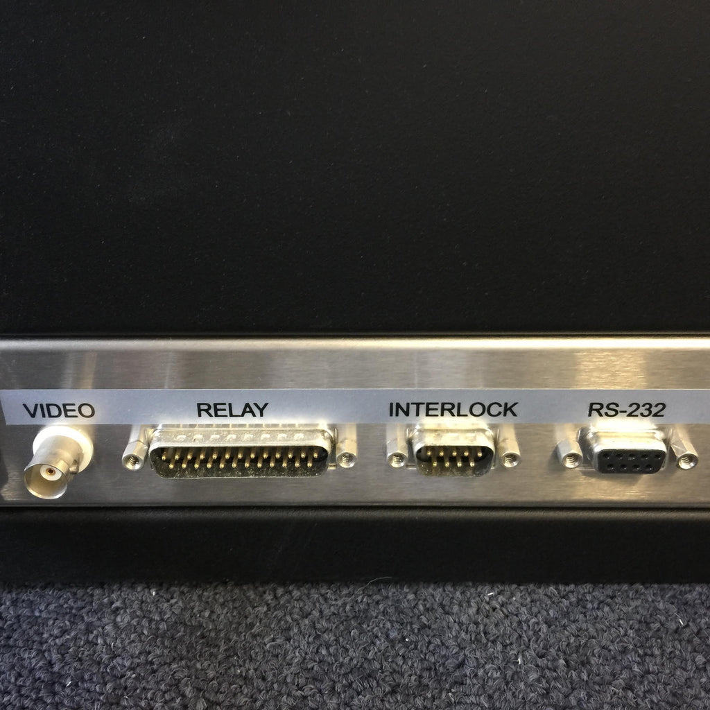 Video, Relay, Interlock & RS-232 Port