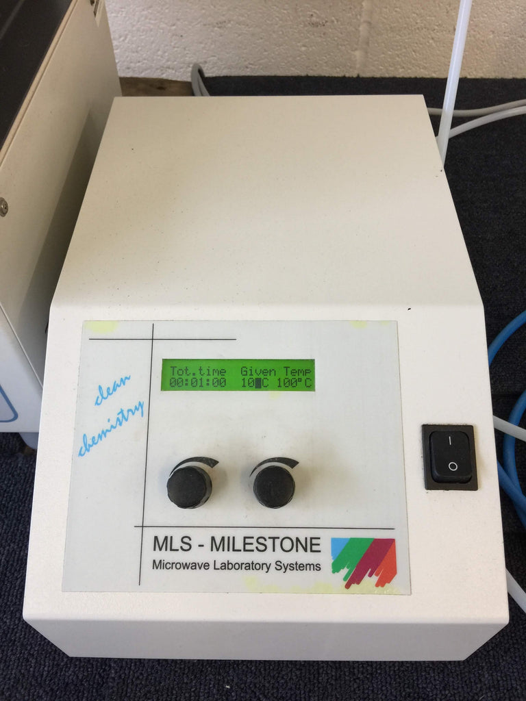 MLS Milestone TraceCLEAN System & Control Box Acid Steam Cleaning System