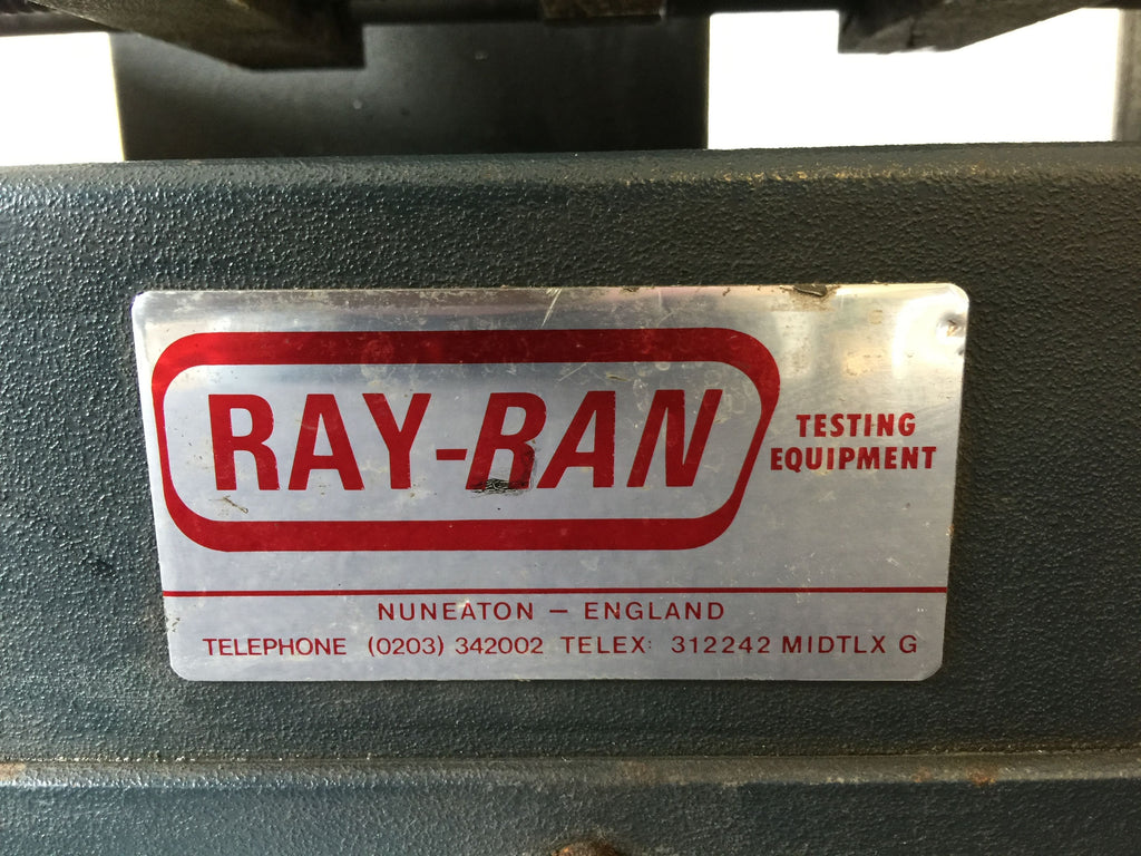 Ray-Ran Testing Equipment