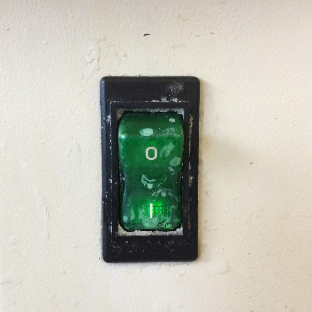 Green On/Off Switch