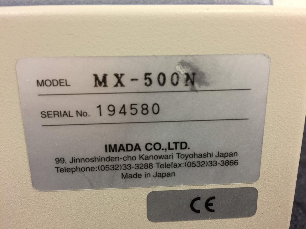 Imada MX-500N Force Measure