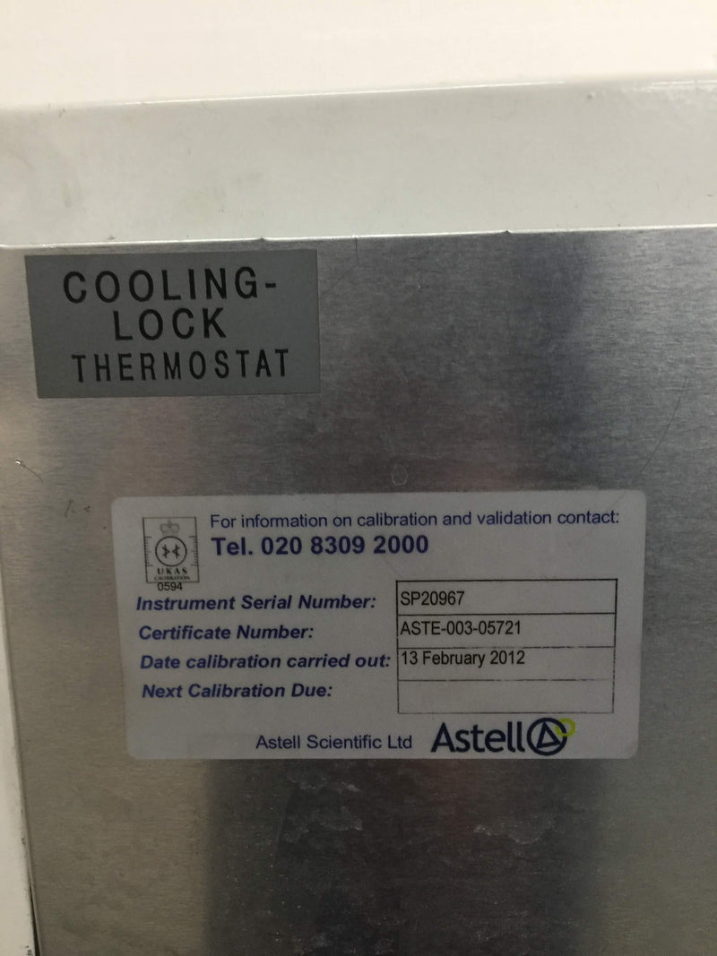 Astell ASB 270 Front Loading Autoclave - Richmond Scientific