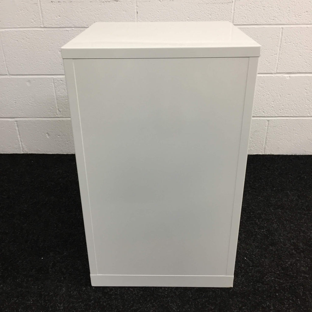 Solvent Cabinet - White