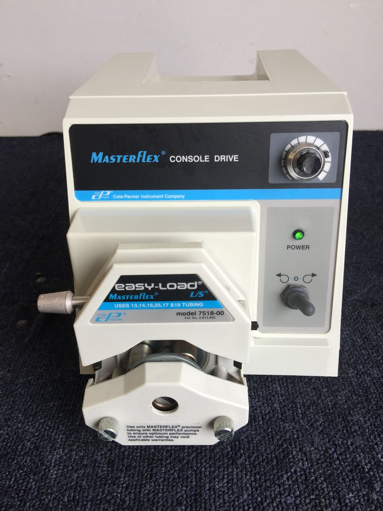 Masterflex Console Drive 77521-57 with Easy-load L/S 7518-00 Pump Head