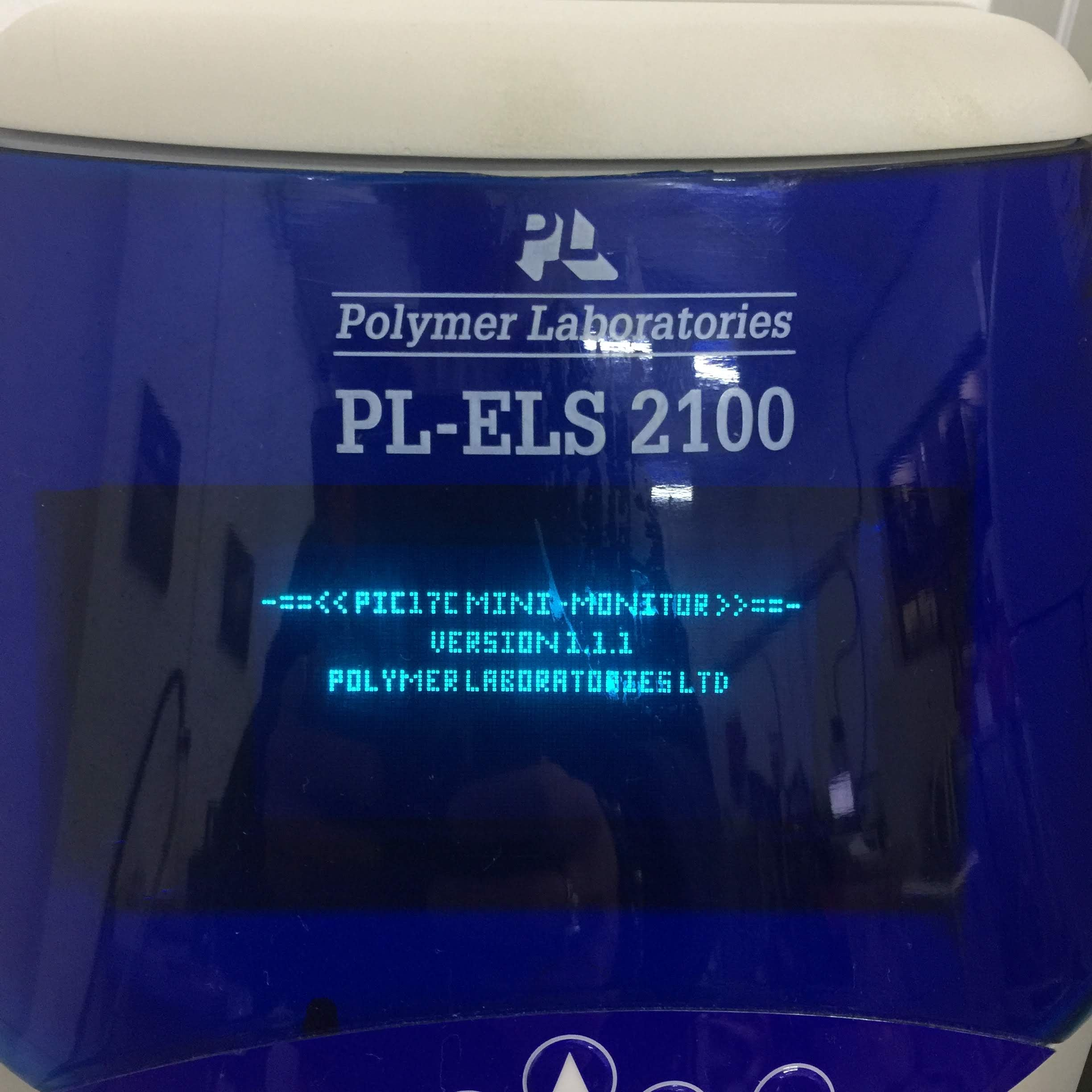 Polymer Laboratories PL-ELS 2100 (Evaporative Light Scatter Detector) with Dionex AS50 Autosampler and UCI-100 Universal Chromatography Interface