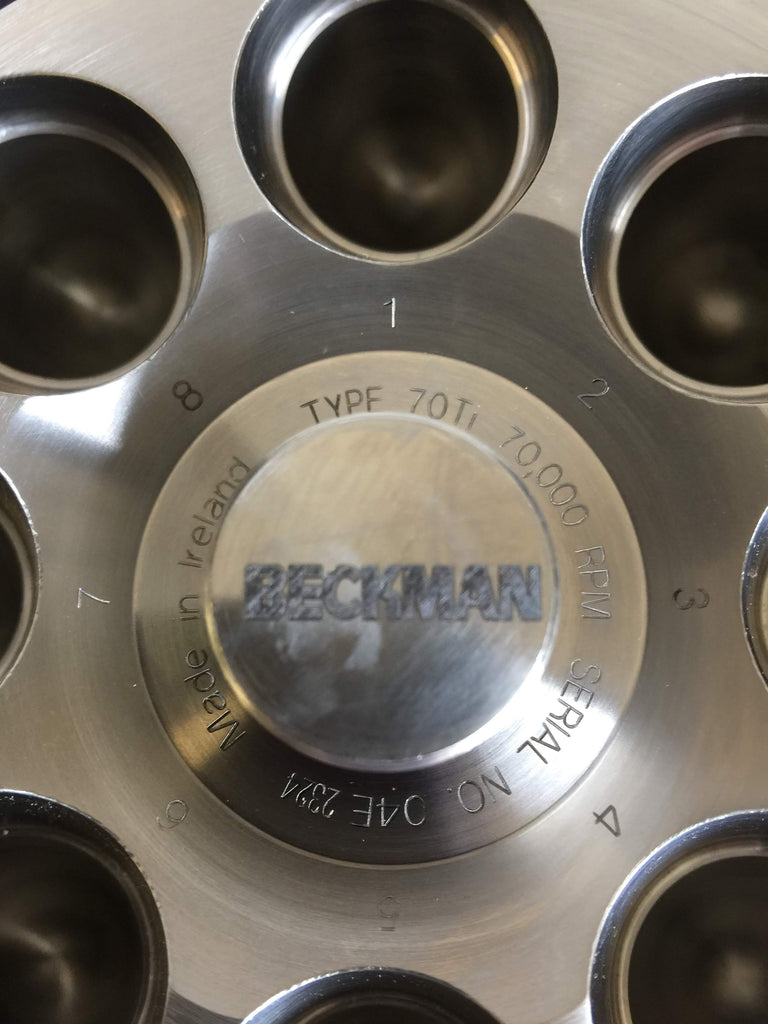 Beckman Coulter Type 70 Ti Rotor