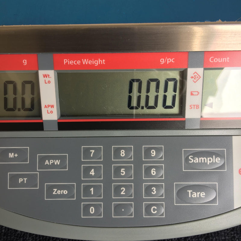 Ohaus EC15 Balance Piece Weight g/pc Digital Screen & Keypad