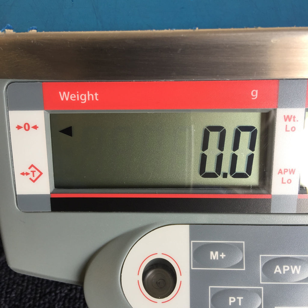 Weight g Digital Display Screen