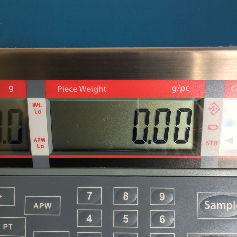 Piece Weight g/pc Digital Display Screen