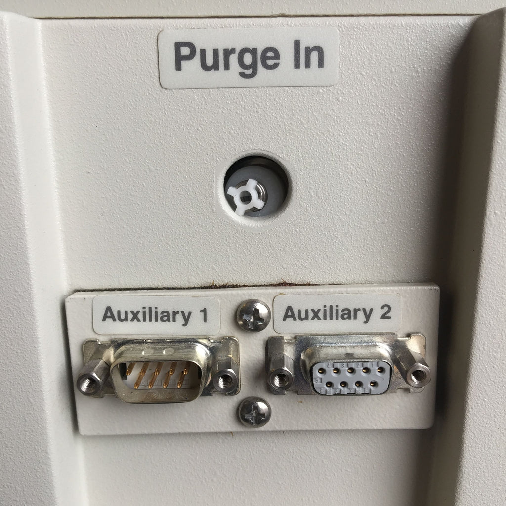 Purge In, Auxiliary 1 & Auxiliary 2 Ports