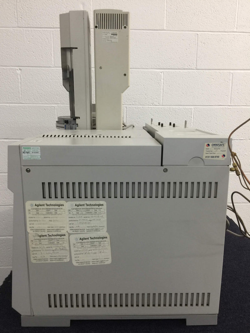Agilent HP 6890 Gas Chromatograph, Agilent 7683 Injector and Accessories