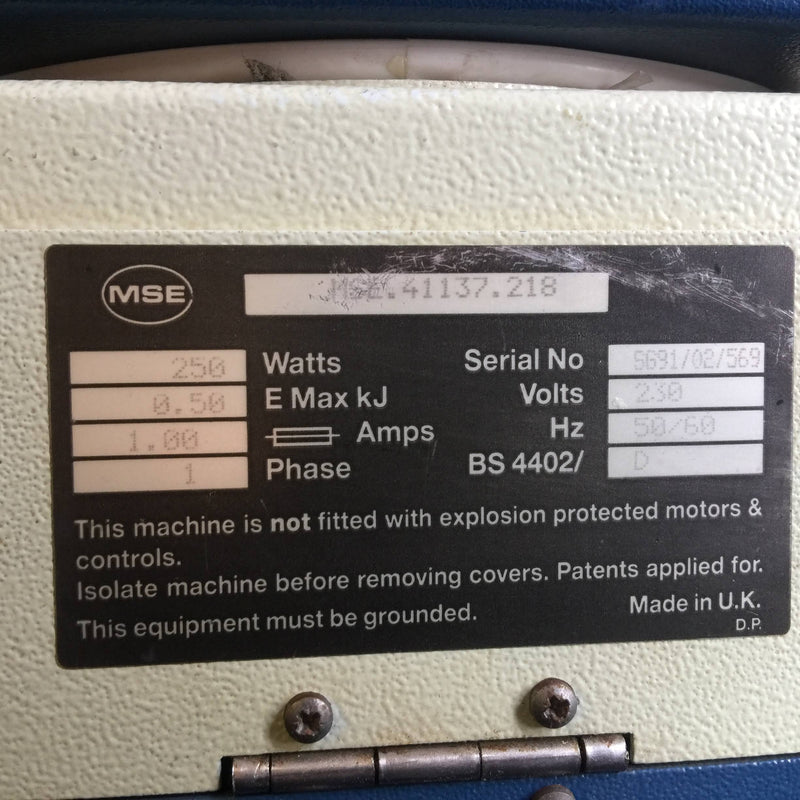 MSE Micro Centaur Centrifuge - Richmond Scientific
