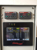 Kin-Tek Flexstream Flexbase Digital Screen Interface with Flow & Temperature Displays