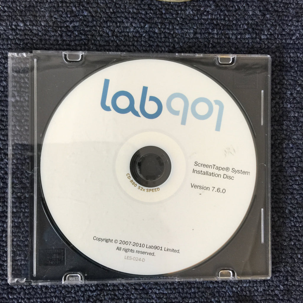 lab901 ScreenTape System Installation Disc
