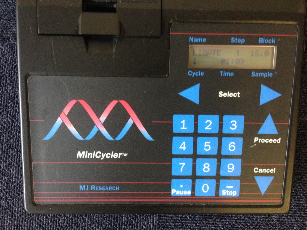 Mini Cycler MJ Research Interface & Keypad