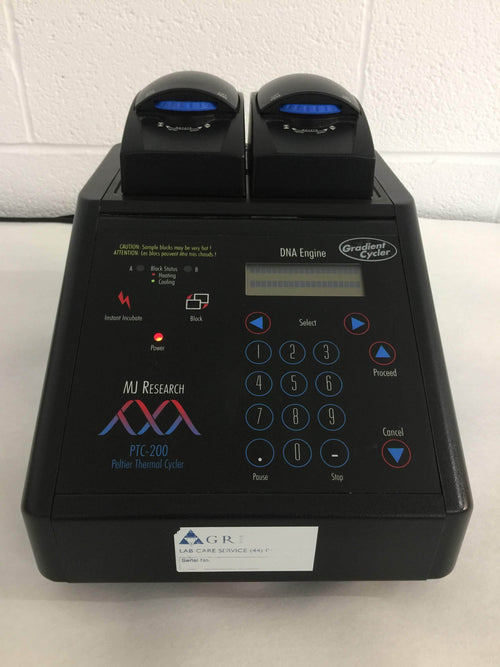 MJ Research PTC-200 Peltier Thermal Cycler - Richmond Scientific