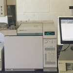 Hewlett Packard Gas Chromatograph 6890 Interface 35900E and Injector Tower