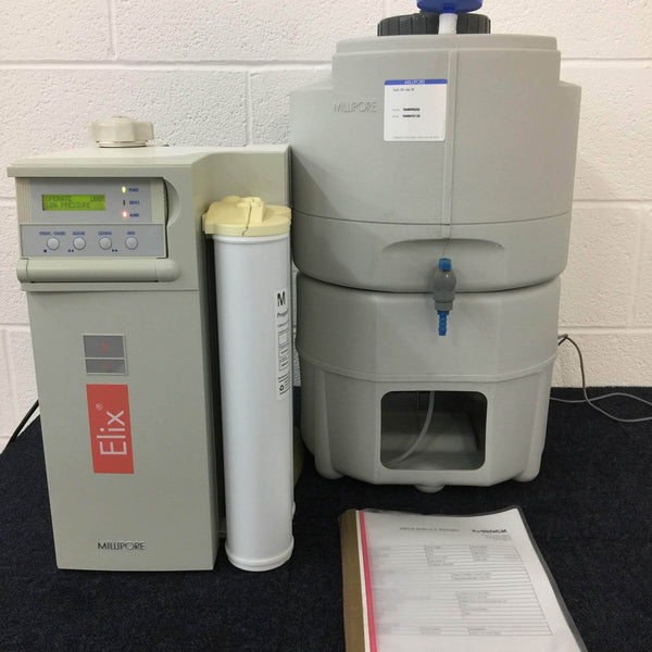 Millipore Elix 5 UV with 30L Tank